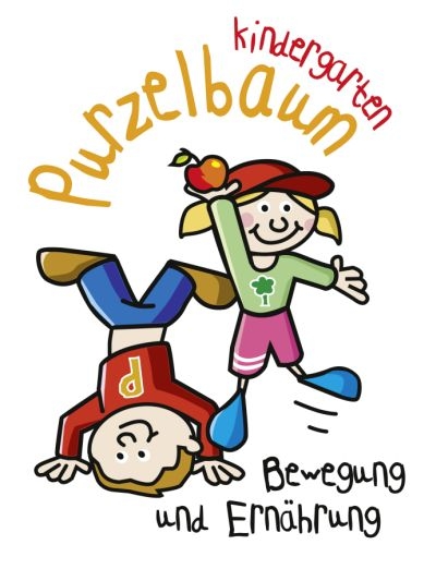 Purzelbaum Kindergarten Logo