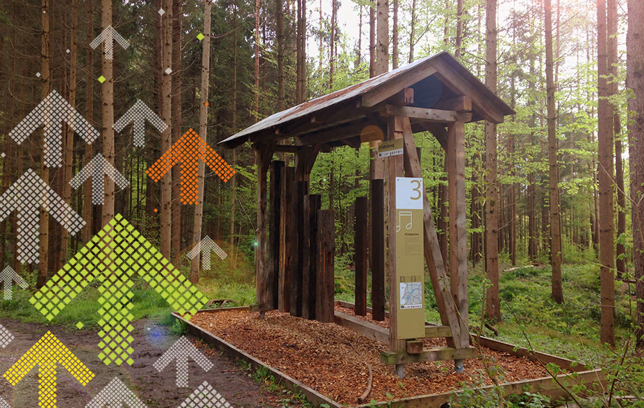 Klangxylophon Erlebnispfad Walcheweiher Winterthur