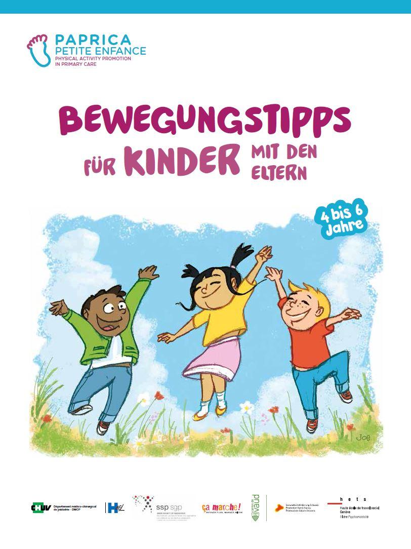 Bewegungstipps für Kinder von 4-6 Jahren