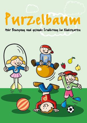 Purzelbaum Kindergarten Elternflyer