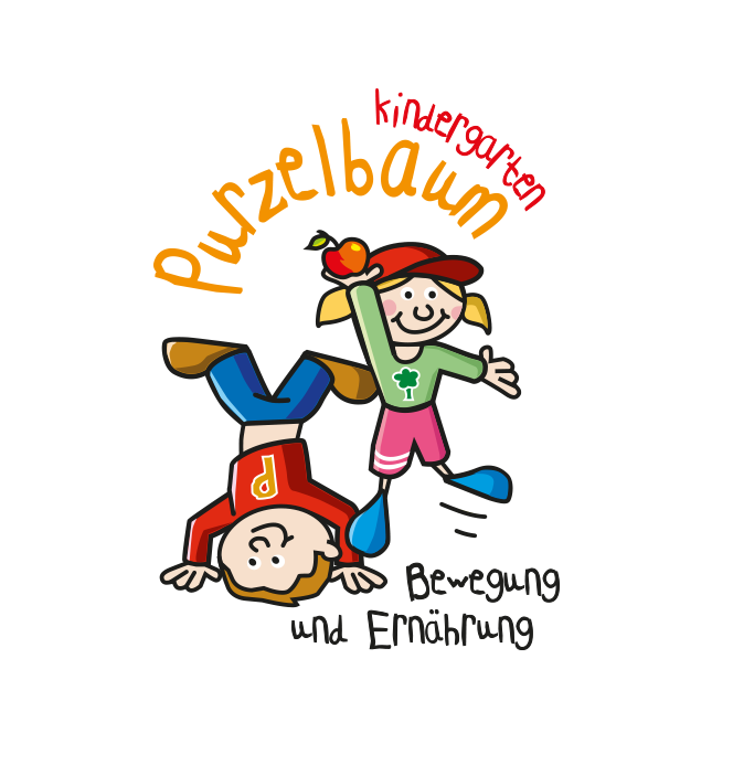 Purzelbaum Kindergarten Kleber