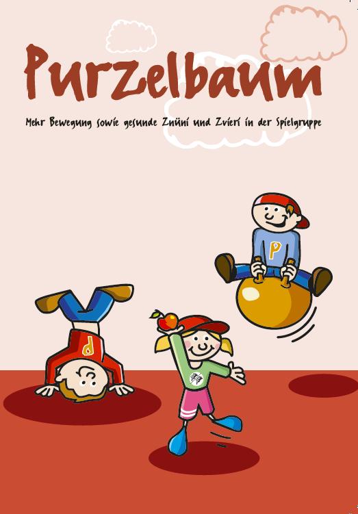 Purzelbaum Spielgruppe Flyer